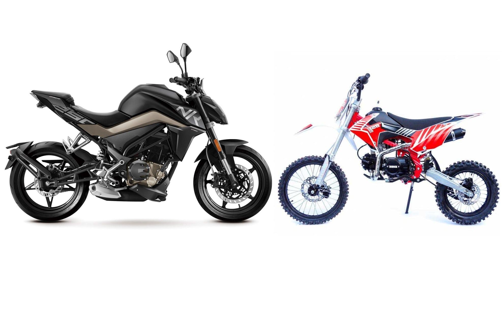 Питбайк vs мотоцикл: что лучше выбрать, в чем отличия?