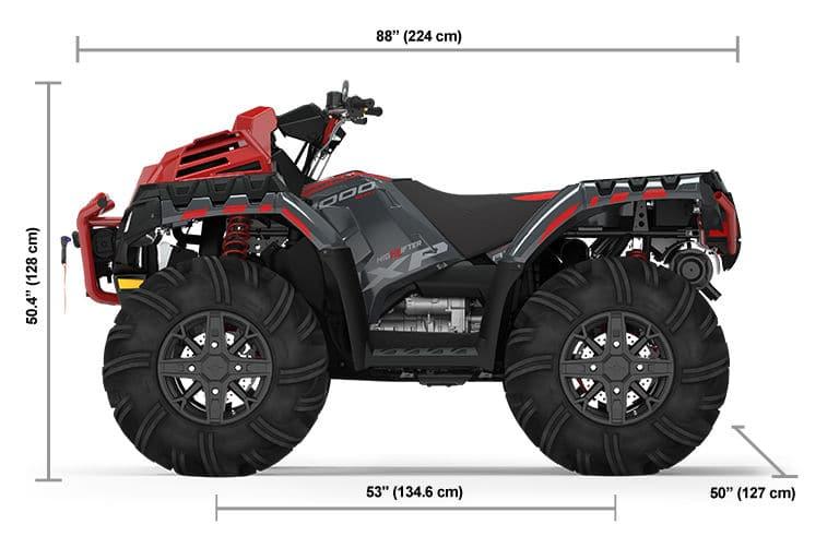 2022 Квадроцикл Polaris Sportsman XP 1000 High Lifter - Stealth Gray