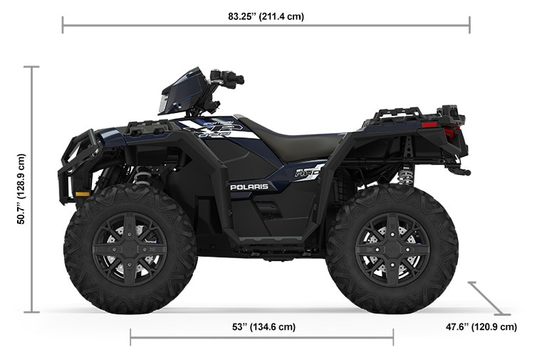 2022 Квадроцикл Polaris Sportsman XP 1000 Ride Command Edition - Azure Crystal